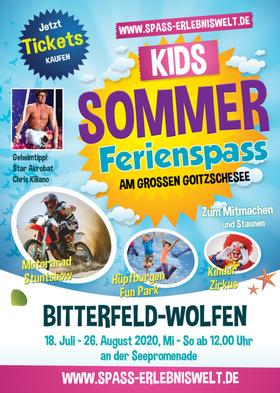 Bild: Ferienspass! Die Erlebniswelt am Goitzschesee - Kids Sommer Ferienspaß