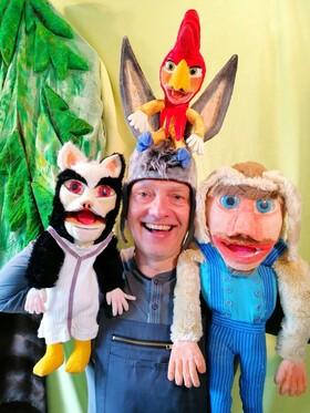 Bild: Puppenspiel - Die Bremer Stadtmusikanten