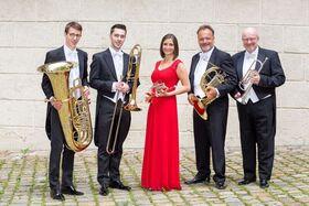 Bild: Harmonic Brass auf Sommerreise