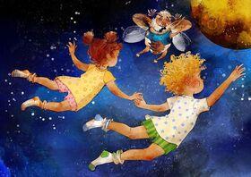 Bild: Sumsemanns Raumpatrouille: Peterchens Mondfahrt - Musikalische Märchenerzählung im Jazzgewand - für Familien mit Kindern ab 6 J.