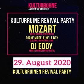 Bild: Kulturbühne Karlsruhe - Kulturruinen Revival Party mit DJ MOZART, DJane MADELEINENE LE ROY, DJ EDDY