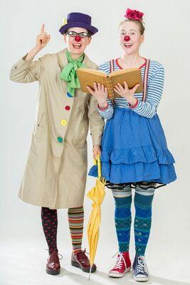 Bild: Der Bücherschatz - Clowness Theater