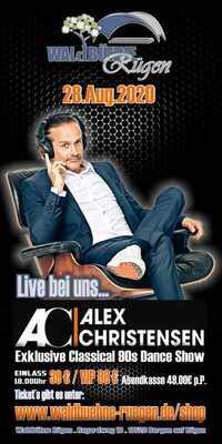 "Bild: Alex Christensen "" Classical 90s Dance"" Live Show 2020"