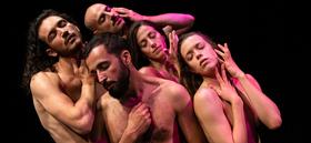 Bild: E-WERK PRODUCTION | NAKED LOVE - A love circle in dance / DAGADA Dance Company