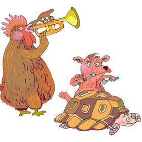Bild: 1. Kinderkonzert - Eine kleine Zoomusik