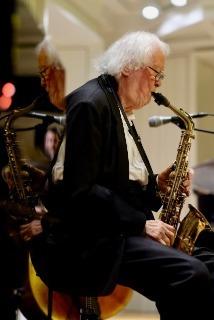 Jazz - Zum 206. Mal Jazz der Frankfurter Bürgerstiftung mit dem Emil Mangelsdorff-Quartett und einem besonderen Gast