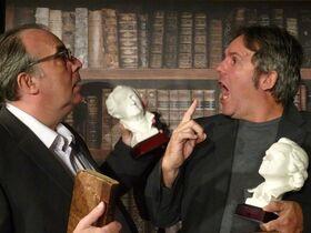 Bild: Goethe vs Schiller - Premiere