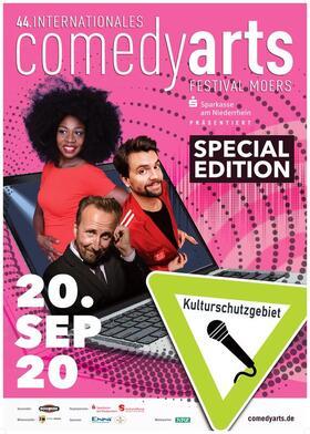 Bild: 44. Int. ComedyArts Moers - Special Edition 2020 - Biotop 1