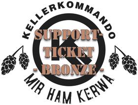Bild: Kellerkommando Mir ham Kerwa Support-Ticket Bronze
