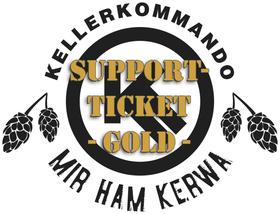Bild: Kellerkommando Mir ham Kerwa Support-Ticket Gold