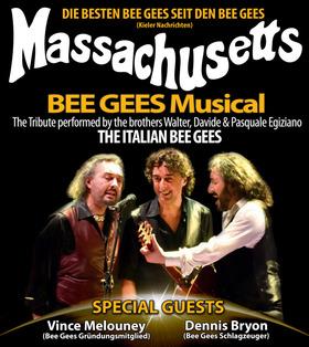 Bild: Massachusetts - BeeGees Musical - Die Bee Gees Tribute-Show mit zwei Originalmusikern