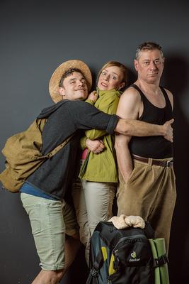 Bild: Hüttenkäse - Drei treffen sich auf dem Jakobsweg
