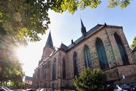 Führung in Marburg - Lutherische Pfarrkirche St. Marien - Gästeführung