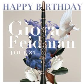 Happy Birthday, Giora Feidman - TOUR 85 - Begleitet von Klezmer Virtuos