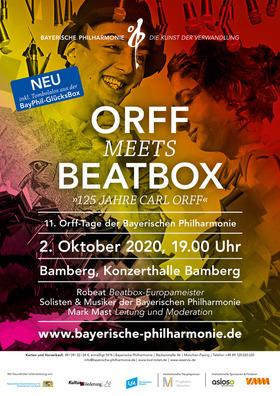 Bild: ORFF meets BEATBOX - 11. Orff-Tage der Bayerischen Philharmonie