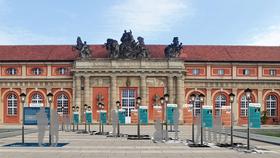 """Bild: Radtour """"Medienstadt Babelsberg und Gartenstadt Drewitz – Neue Filme, Neue Bauten"""" - Radtour """"Medienstadt Babelsberg und Gartenstadt Drewitz – Neue Filme, Neue Bauten"""""""