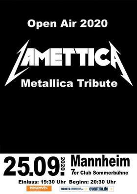 Bild: Lamettica - Metallica Tribute Open Air