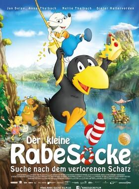 Bild: Der kleine Rabe Socke 3 - Suche nach dem verlorenen Schatz (Kino im Bürgersaal)