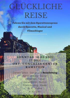 Bild: Glückliche Reise - Operettenexpress durch Operette, Musical und Filmschlager