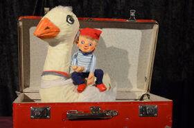 Bild: Nils Holgerssons wundersame Reise - Schnuppe Figurentheater - Birgit Schuster