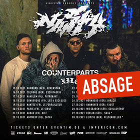 NASTY & COUNTERPARTS - Plus Special Guest + Xile