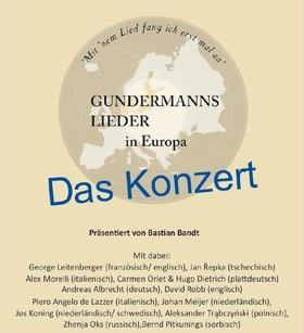Bild: Gundermanns Lieder in Europa - Das Konzert - präsentiert von Heiner Kondschak