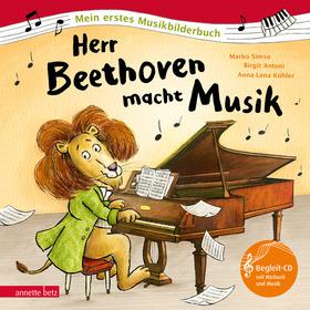 Bild: Herr Beethoven macht Musik - Kooperationsveranstaltung der Staatlichen Jugendmusikschule und des Seiteneinsteiger e.V.