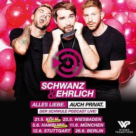 SCHWANZ & EHRLICH - der schwule Podcast - Alles Liebe. Auch Privat. • im Rahmen der Queeren Kulturwoche