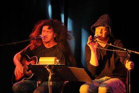 Bild: Duo Ohrenschmaus - Hessisch Musikcomedy