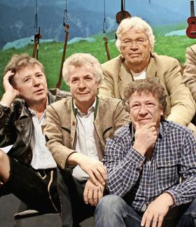 Bild: Gerhard Polt & die Well-Brüder aus´m Biermoos - 40 Jahre Polt & Well-Brüder - Im Abgang nachtragend