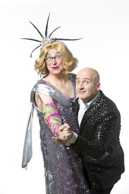 """Bild: Emmi & Willnowsky """"Silberne Hochzeit"""" - - Ein Abend mit warmem Buffet und den Stars vom Schmidt`s Tivoli"""