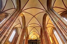 Bild: St. Marien – das neue Gewölbe