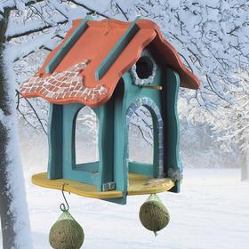 Bild: Winter-KreativWerkstatt - Ein Futterhaus für die heimischen Vögel