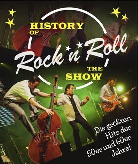 Robert Führer mit Running Five - History of Rock `n´ Roll – The Show