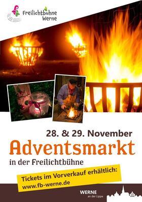 Freilichtbühne Werne - Adventsmarkt 2020