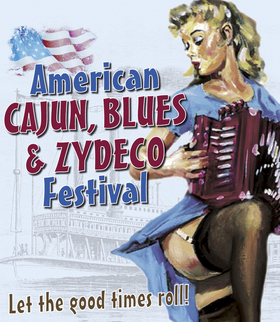 Bild: American Cajun, Blues & Zydeco Festival 2021 - mit Rusty Metoyer & The Zydeco Krush, Daiquiri Queens, Roddie Romero & Michael Juan Nunez