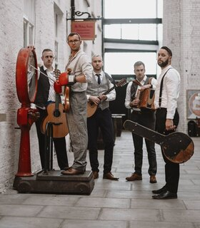 "Bild: The Rapparees ""Knock out tour 2021"" - Ein Abend mit Irish Folk ""rough and ready"" und warmem Buffet"
