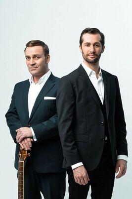 Bild: Stefan Leonhardsberger und Martin Schmid - Die Leonhardsberger & Schmid Show