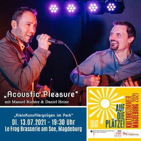Bild: Acoustic Pleasure - Manuel Richter & Daniel Heine
