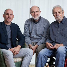 Bild: Alles eine Frage der Zeit - Ein Abend mit Harald Lesch, Karlheinz A. Geissler & Jonas Geissler