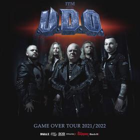 """U.D.O. - """"Game Over Tour 2021"""
