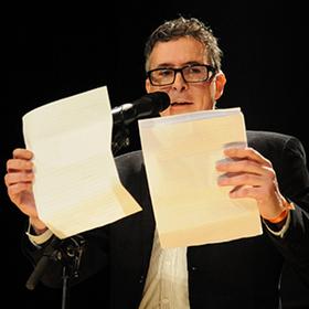 Bild: Volker Strübing – Comedy Lesung - outdoor