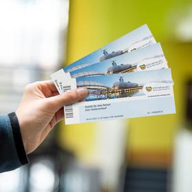 Bild: Zeitfenster-Tickets - ab 9,50 EUR