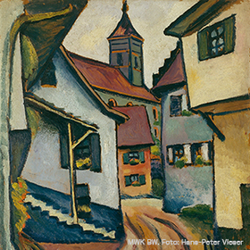 Bild: Eintritt Museum für Neue Kunst