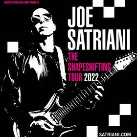 Bild: Joe Satriani - The Shapeshifting Tour 2022