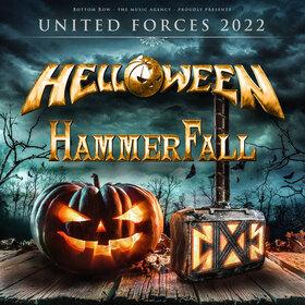 Bild: Helloween + Hammerfall - UNITED FORCES 2022