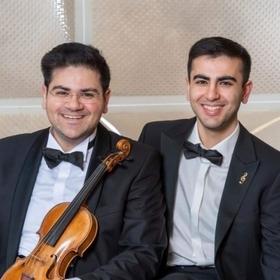 Bild: Die Malaev - Brüder im Konzert