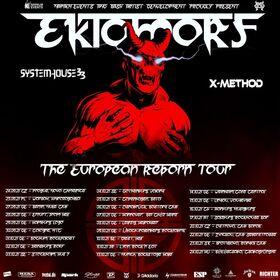 Bild: Ektomorf, Systemhouse 33, X-Method - + Special Guests
