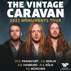 The Vintage Caravan - 2022 Monuments Tour