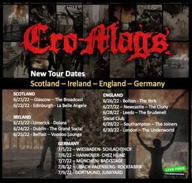 CRO-MAGS - Tour 2022